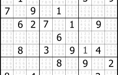 Sudoku Puzzler | Free, Printable, Updated Sudoku Puzzles With A – Printable Sudoku Puzzle Medium