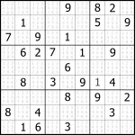Sudoku Puzzler | Free, Printable, Updated Sudoku Puzzles With A   Printable Sudoku Puzzles Easy #1