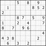 Sudoku Puzzler | Free, Printable, Updated Sudoku Puzzles With A   Printable Sudoku Puzzles Easy #6