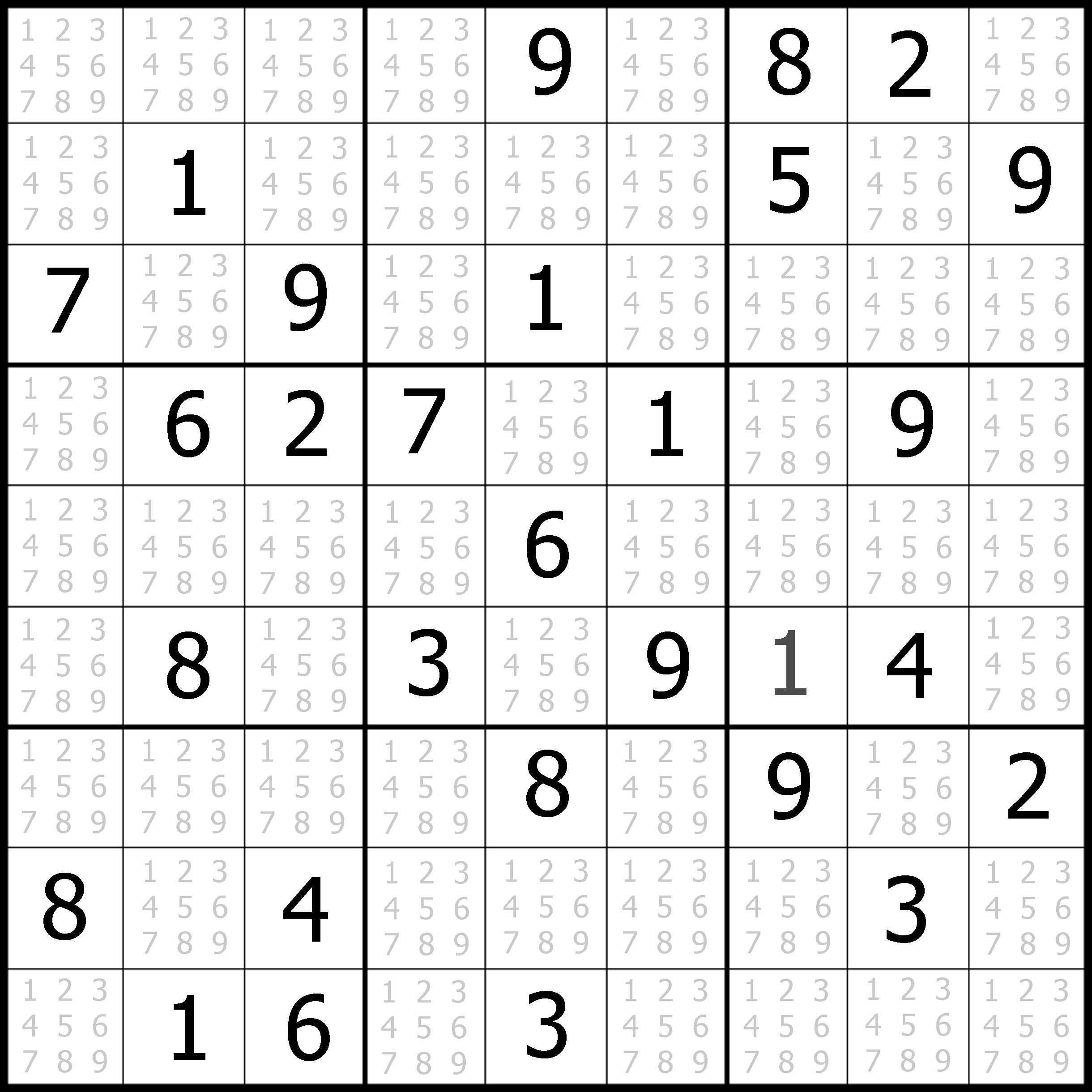 Sudoku Puzzler | Free, Printable, Updated Sudoku Puzzles With A - Printable Sudoku Puzzles Easy