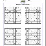Suduko Printable | Ellipsis   Printable Sudoku Puzzles Krazydad