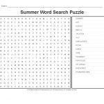 Summer Worksheets: Summer Word Search Puzzle   Primarygames   Play   Printable Beach Crossword Puzzles