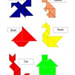 Tangram Templates.pdf | Math | Tangram Puzzles, Math Games, Puzzle   Printable Tangram Puzzles And Solutions
