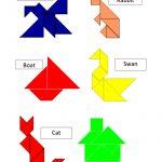 Tangram Templates.pdf | Math | Tangram Puzzles, Math Games, Puzzle   Printable Tangram Puzzles Pdf
