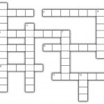 Template For Crossword Puzzle. Crossword Template Daily Dose Of   Printable Blank Crossword Grid