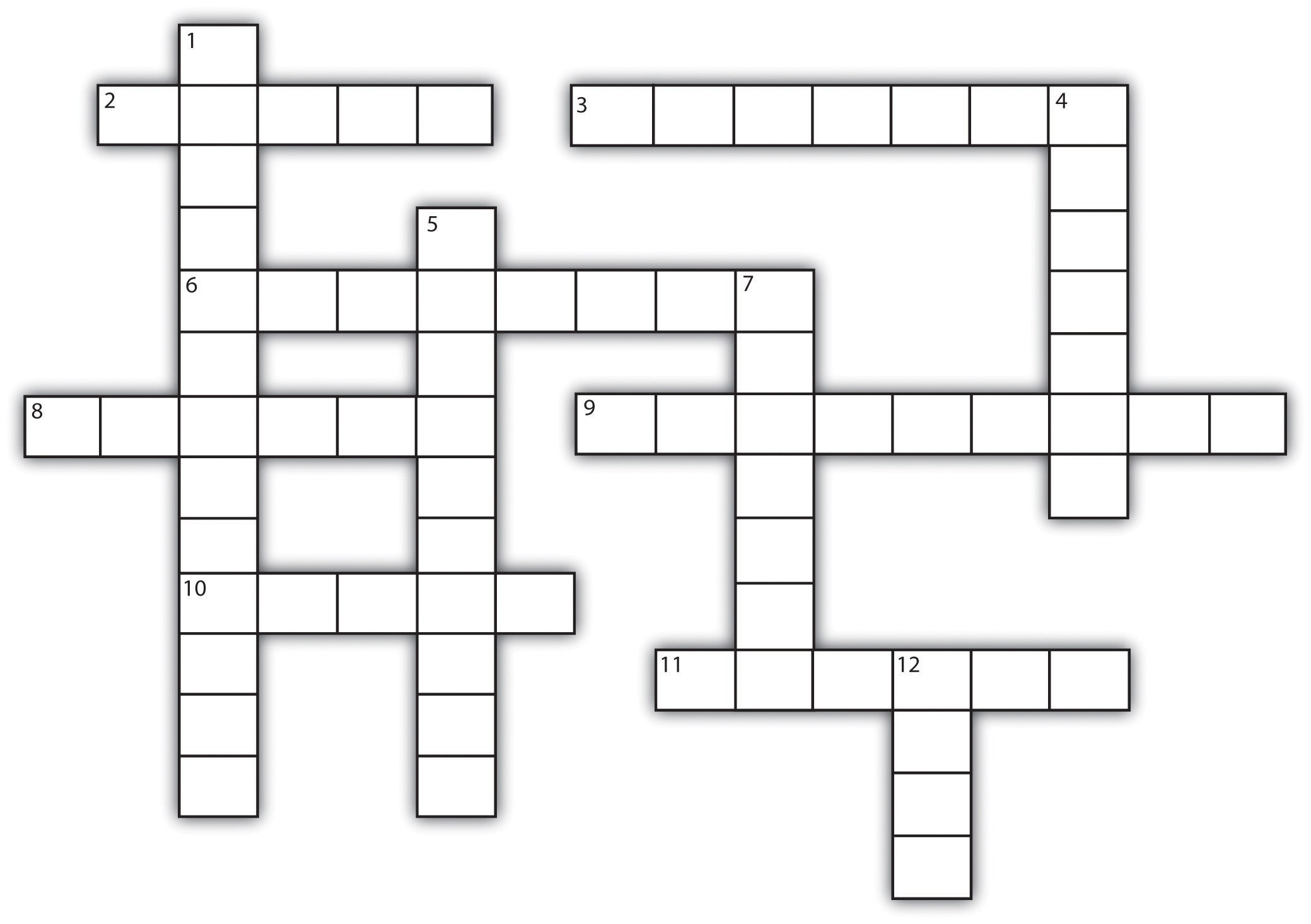 Template For Crossword Puzzle. Crossword Template Daily Dose Of - Printable Blank Crossword Puzzle Grid