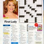 That Time I Was In People Magazine's Crossword. #tbt | Geeky Stuff   Printable People Magazine Crossword Puzzles