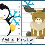 The Cozy Red Cottage: Arctic Animal Puzzles And I Spy Game (Free   Printable Animal Puzzles