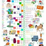 The English Alphabet   Crossword Worksheet   Free Esl Printable   Printable Crosswords To Learn English