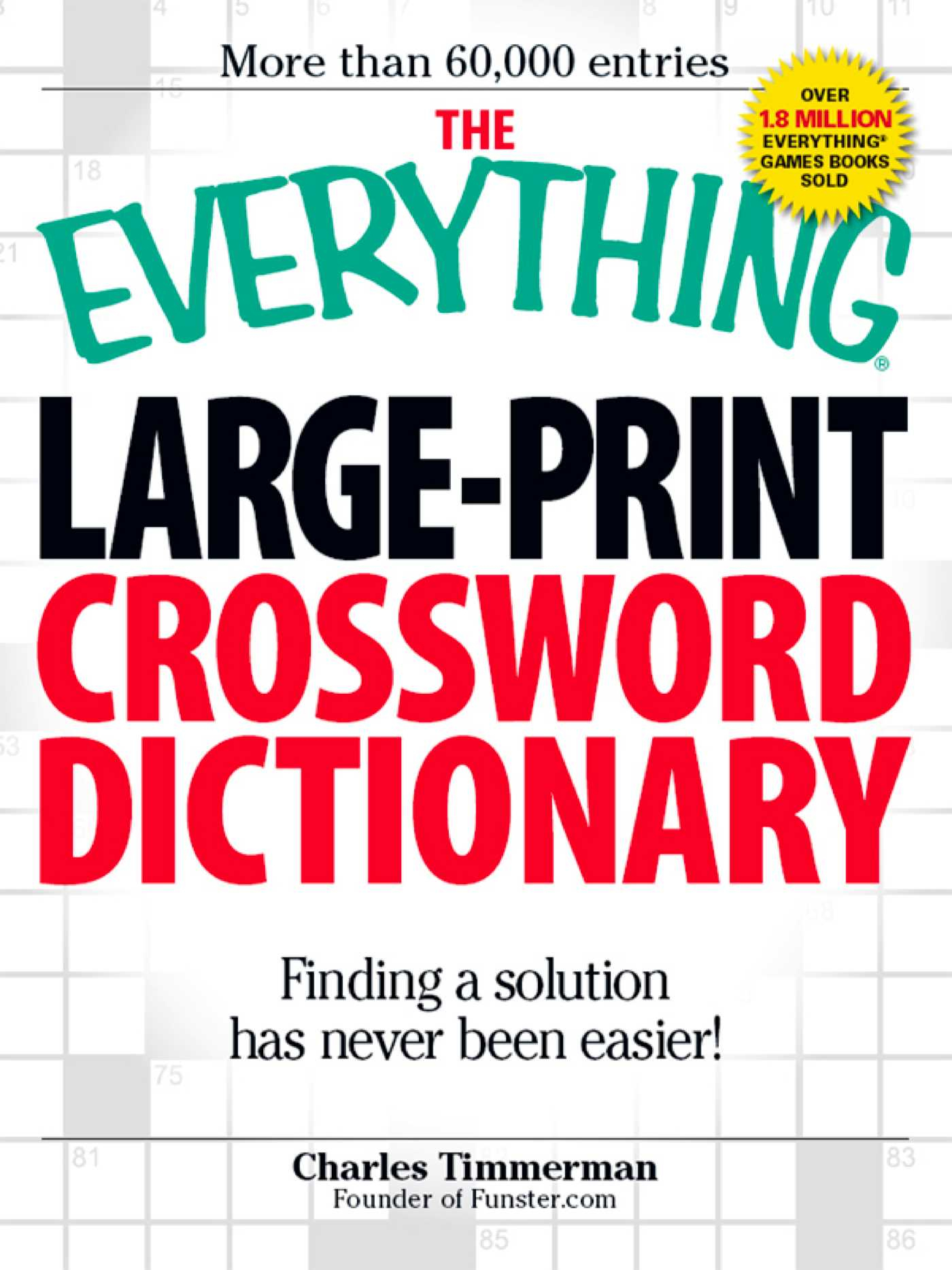 The Everything Large-Print Crossword Dictionary Ebookcharles - Large Print Crossword Puzzle Dictionary