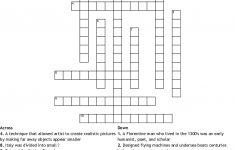 The Italian Renaissance Crossword – Wordmint – Printable Italian Crossword Puzzles