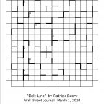 The Nation Cryptic Crossword Forum: Wall Street Journal Hint Grid   Printable Wall Street Journal Crossword Puzzle
