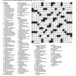The New York Times Crossword In Gothic: 02.10.13 — Blizzard Blizzard!   Printable Crossword Puzzles Will Shortz