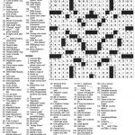 The New York Times Crossword In Gothic: October 2010   Printable Crossword Puzzles New York Times