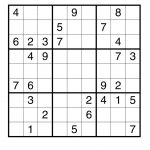 The Wingèd Elephant: Free Sudoku Puzzle For You   Printable Hitori Puzzles