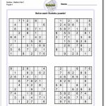 These Printable Sudoku Puzzles Range From Easy To Hard, Including   Printable Puzzles Hard