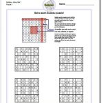 These Printable Sudoku Puzzles Range From Easy To Hard, Including   Printable Sudoku Puzzles Easy #2