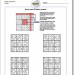 These Printable Sudoku Puzzles Range From Easy To Hard, Including   Printable Sudoku Puzzles Pdf