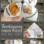 This Finger Puzzle Is So Much Fun! I Love The Thanksgiving Bible   Printable Christmas Finger Puzzle With Bible Verses