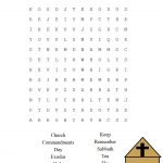 This Is A Free Printable Ten Commandments Word Find Puzzle For The   Printable Crossword Puzzles For Tweens