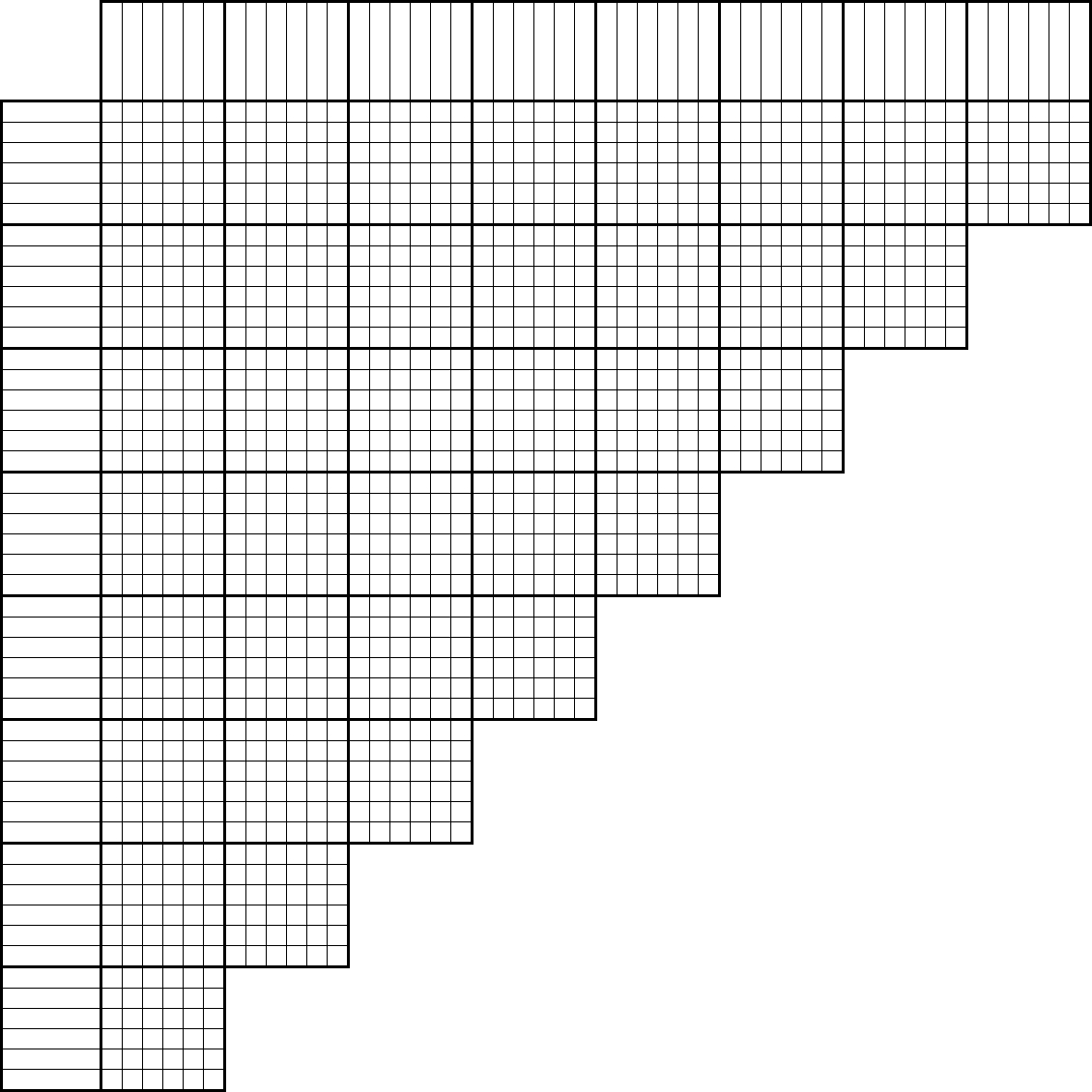 Tlstyer - Logic Puzzle Grids - Printable Logic Puzzle Grid Blank