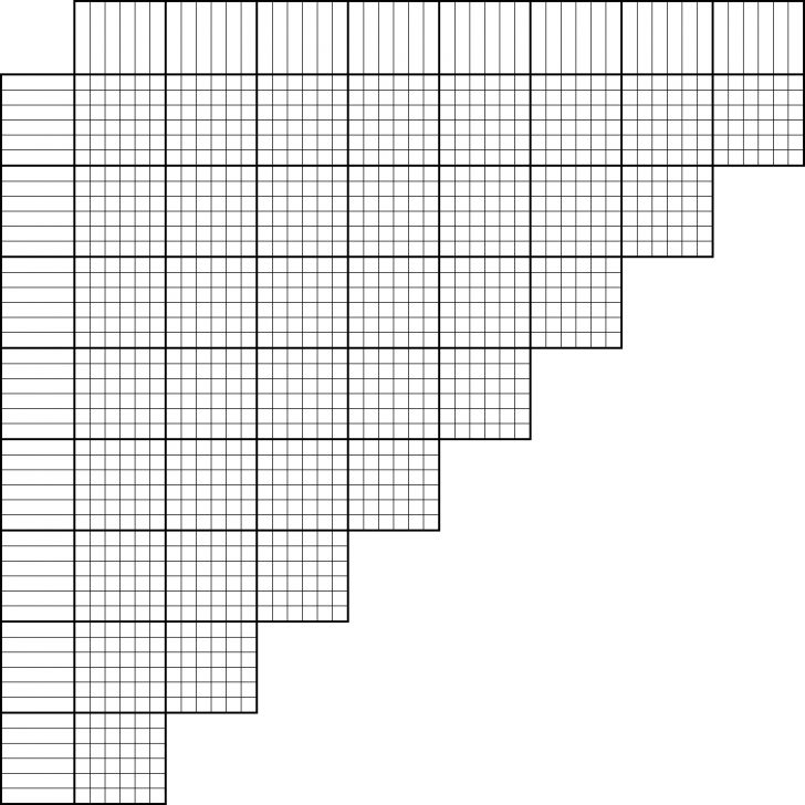 Printable Puzzle Grid