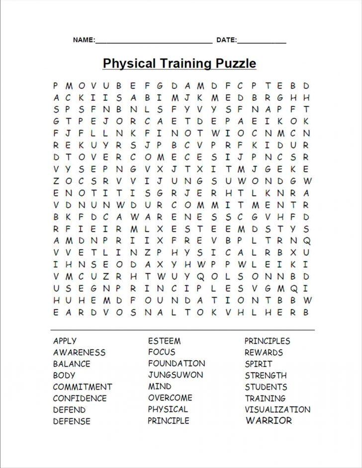 Word Puzzle Printable Hard