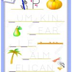 Tracing Letter P For Study English Alphabet. Printable Worksheet   Letter P Puzzle Printable