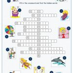 Tv Programmes Crossword Puzzle Worksheet   Free Esl Printable   Printable Crossword Puzzles Tv Shows