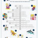 Tv Programmes Crossword Puzzle Worksheet   Free Esl Printable   Tv Show Crossword Puzzles Printable