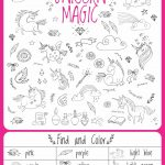 Unicorn Birthday Games Activities Puzzles In 2019 | Chloe 4Th   Printable Unicorn Puzzles
