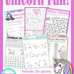 Unicorn Birthday Games Activities Puzzles | Puzzles | Unicorn   Printable Unicorn Puzzles