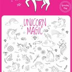Unicorn Magic Find And Color | Puzzles | Unicorn, Unicorn Party   Printable Unicorn Puzzles