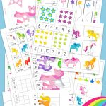 Unicorn Preschool Activity Pack   Fun With Mama   Printable Unicorn Puzzles
