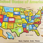 United States Map Printable Puzzle New Us Geography Map States Best   Printable State Puzzle