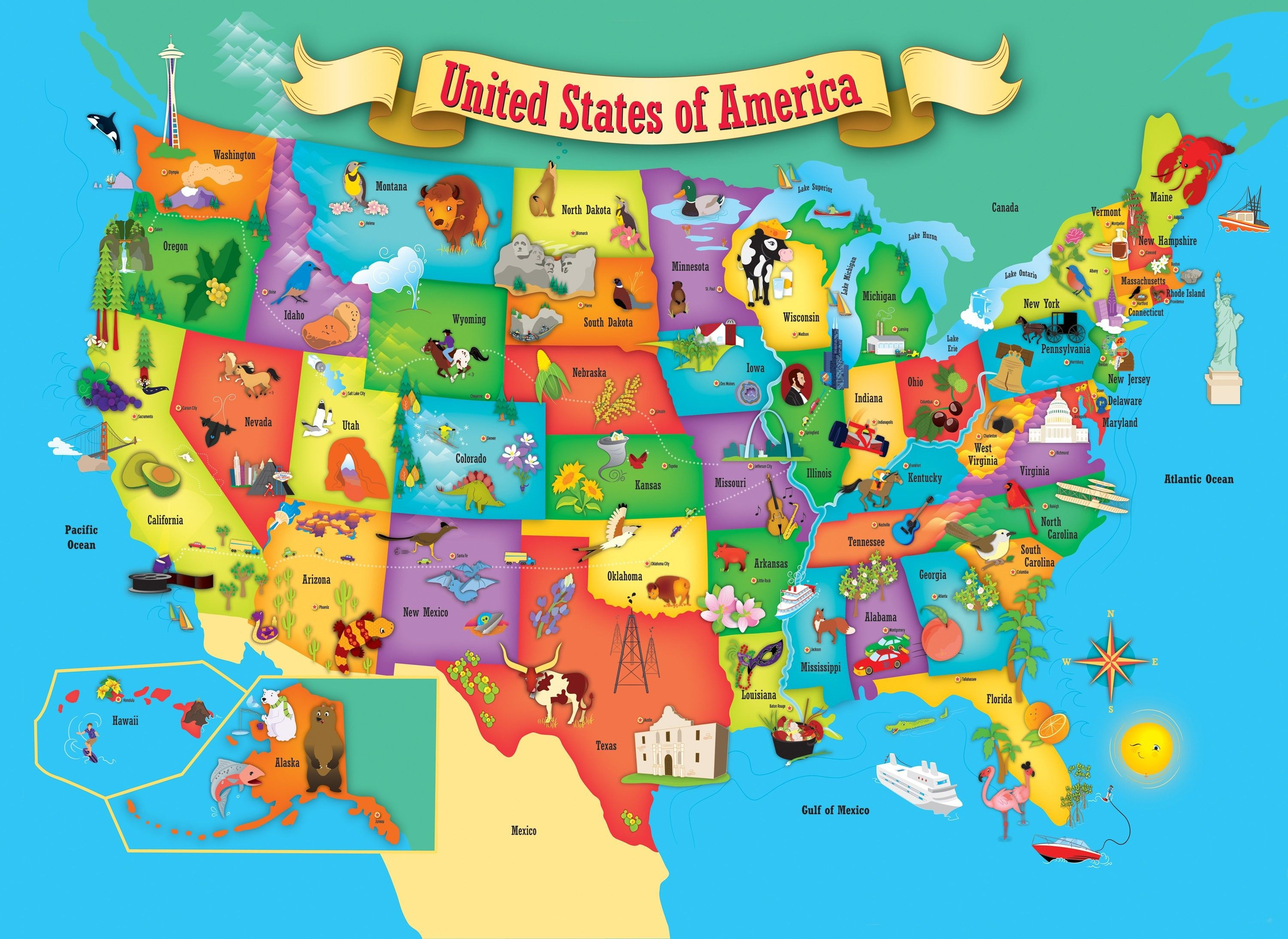 United States Map Puzzle Printable | Printable Maps - Printable State Puzzle