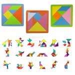 Us $1.61 21% Off|7 Pieces Eva Foam Tangram Brain Educational Teaser Puzzle  Game Kid Toys In Puzzles From Toys & Hobbies On Aliexpress | Alibaba   7 Piece Tangram Puzzle Printable