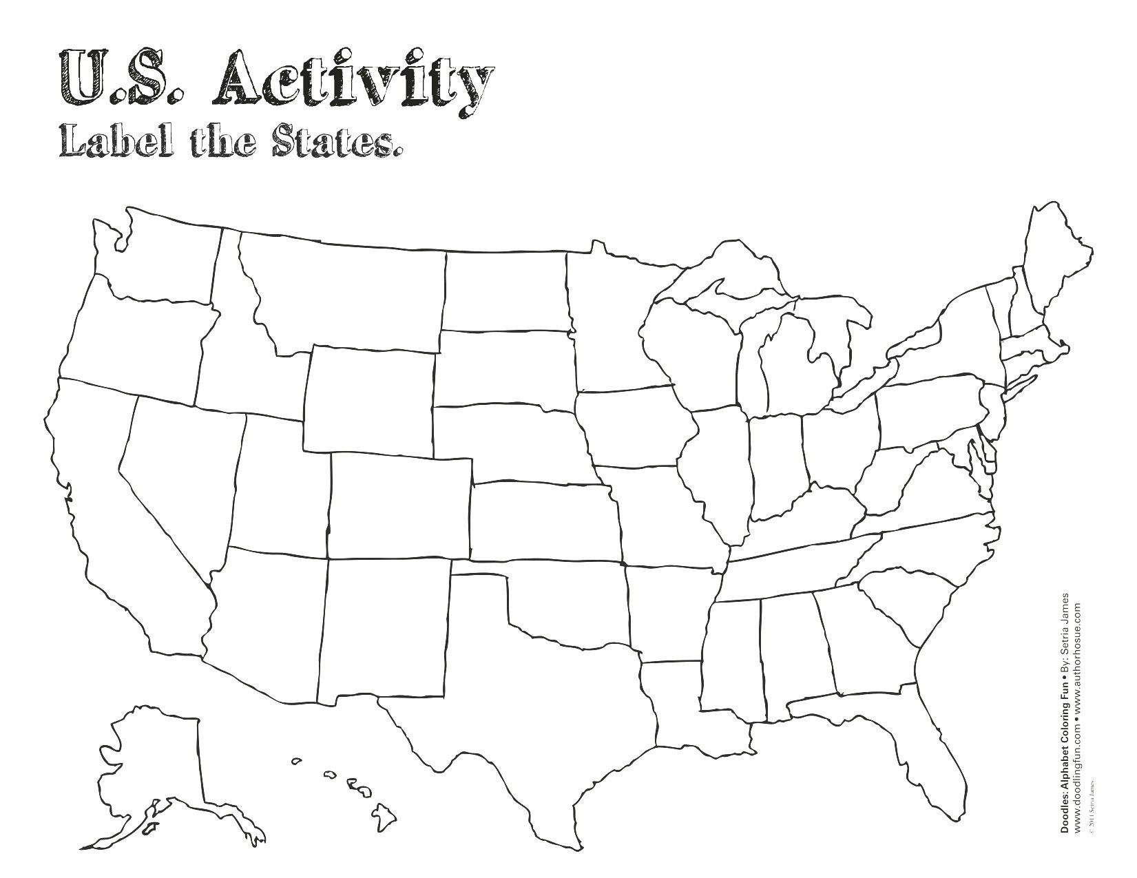 Us Map Outline Labeled Valid Us Map Printable Puzzle Valid Map - Printable Puzzle Map Of The United States
