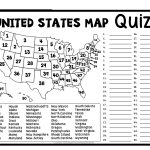 Us Rivers And Lakes Map Quiz New United States Map Puzzles Printable   Printable Puzzle Map Of The United States