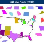 Us State Map Puzzle Web Game Usa Android Apps On Google Play At – Printable Puzzle Map Of The United States