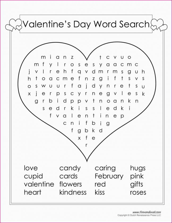 Printable Valentine Puzzles For Adults