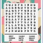 Valentine Word Search   Printable Puzzles   10X10 Wordsearch Grid   Printable Christian Valentine Puzzles