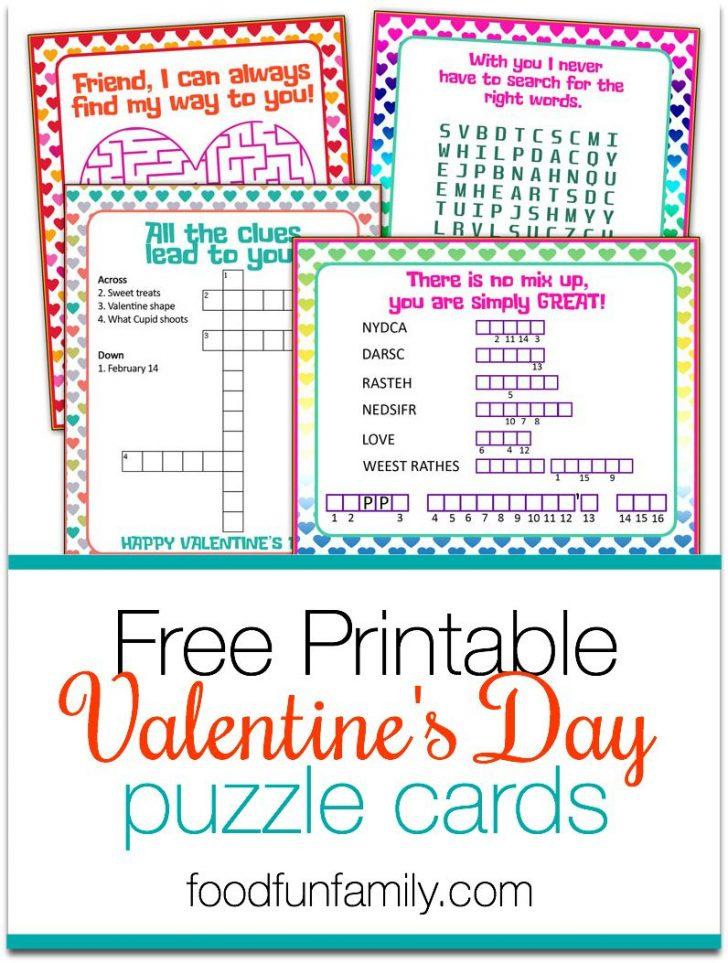 Free Printable Valentine Puzzle