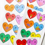 Valentine's Heart Letters And Phonics Puzzles Free Printable   Printable Phonics Puzzles