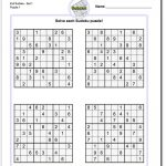 Very Hard Sudoku Puzzle To Print 5   Free Printable Sudoku With   Printable Sudoku Puzzles Easy #1 Answers