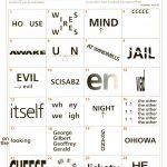 Wackie Wordies #68 | Wacky Words | Word Puzzles, Brain Teaser   Printable Mind Puzzle Games
