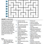 Wall Street Journal Crossword Contest   Journal Foto And Wallpaper   Printable Wall Street Journal Crossword Puzzle