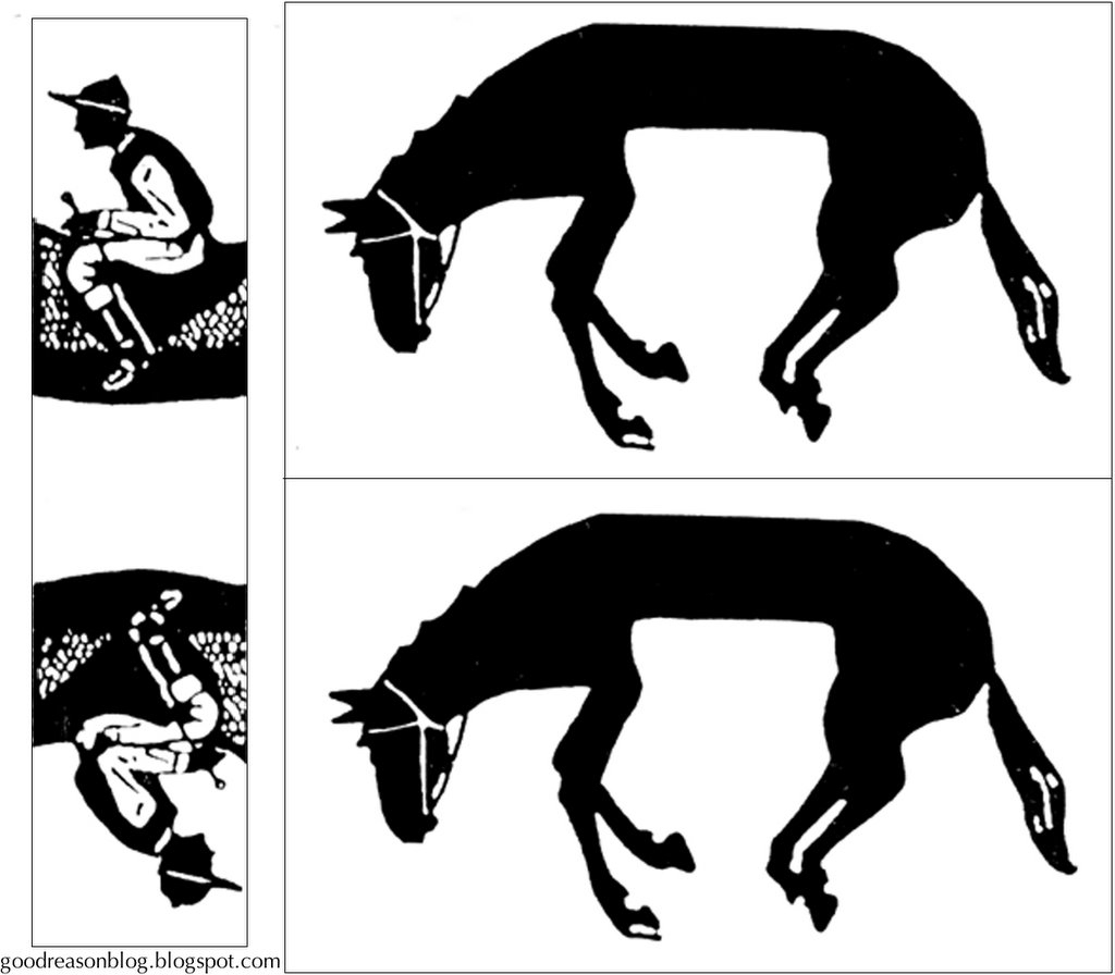 Warm-Up: Horse & Rider Puzzle | Design Thinking & Innovation Toolbox - Printable Horse Puzzle