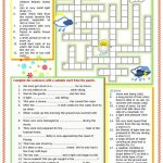 Weather Vocabulary Worksheet   Free Esl Printable Worksheets Made   Printable Weather Crossword Puzzle