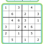 Week 7: Learning Math With Sudoku | 52 Weeks Of Learning With The   Printable Puzzles 4X4